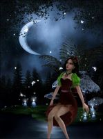 Night fairy by Lady-Lili