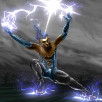 Thunder Guy - Lightning Rod by dnekrufi