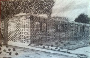 my building drawing. by deanna22310