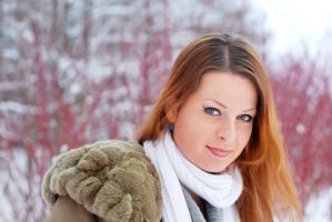 Lidia in Winter 3 by SmileyG