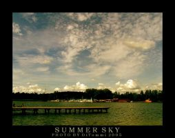Summer sky by DiTommi