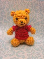 Wee Little Winnie the Pooh Amigurumi Doll by Spudsstitches