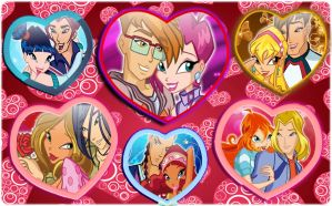 Winx Couples by AlexaSpears1333