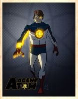 LegacyHeroComics' Agent Atom by DBed