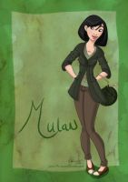DisneyBound: Mulan by Tella-in-SA