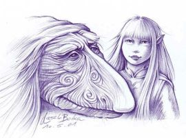 Mystic and Gelfling Kira by Skulpturen