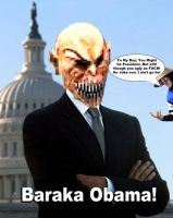 Baraka Obama Mortal Kombat DASHIEXP Fan made Pic by AwesomeQman