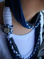 T shirt Necklace by animeangel07