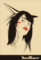 THE HELLCAT by halfnaked
