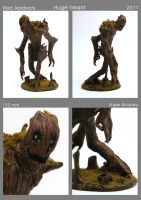 Huge Treant Miniature by WilliamWeird