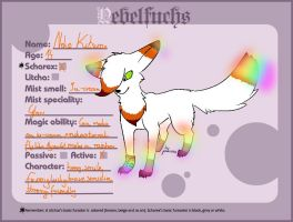 Neko Kitsune the Nebelfuch! by NekoTheFox