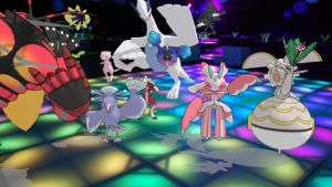 Pokemon Dance Dance Revolution