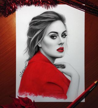 ADELE by aleexart