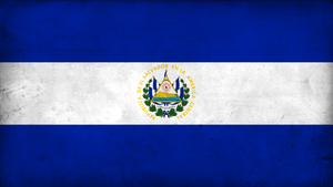 Grunge Flag of El Salvador by pnkrckr