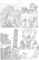 Something Evil page 7 pencils by RudyVasquez