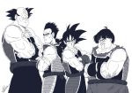 Bardock and friends by mcdumb