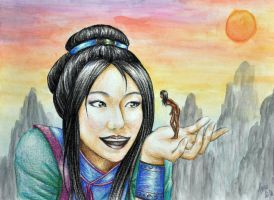 Nuwa and the First Woman by FimbulvetrIce