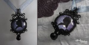 Cameo Victorian Necklace by bodaszilvia