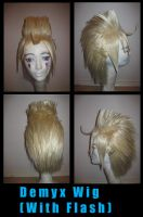 Demyx Wig -With Flash- by capriciousgamzeee