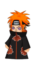 Pain-sama Chibi by Dazed--Flame