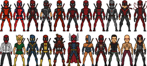 The Deadpools V.2 by MicroManED