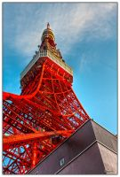 Red tower giant 1 by dragonslayero
