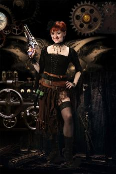 Steampunk Sol 7 by Solceress
