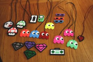 Hama bead collection by oskariii