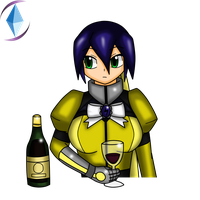 IronMaiden Having a Drink by CrystalViolet500