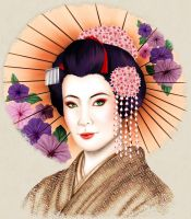 Geisha by jussta