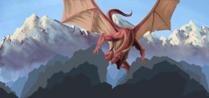 update : dragon mountain by Durianssmellnice