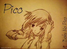 Pico from Boku no Pico by vMatoKuroi