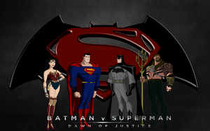 JLU Batman v Superman: Dawn of Justice by Alexbadass