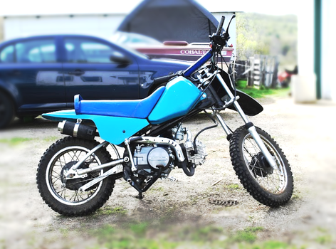 125cc Pitbike build by SV-40