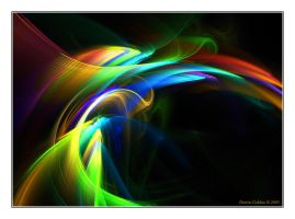 Rainbow Flowers No.6 by denise-g