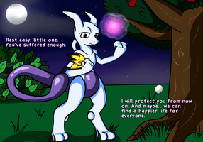 Mewtwo - Leave the Past Behind by Ryusuta