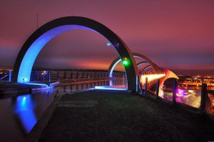 Falkirk Wheel 2 by grant-m