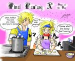 Final FantasyX Soup Of The Day by zend