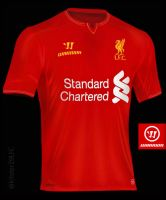 LFC Home Shirt 2014/15 Concept by kitster29