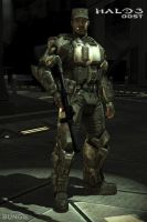 Halo3:ODST Preorder Unlockable by counterfox