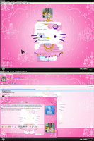 MSN 8.5 Hello Kitty 2 by AndyClaro