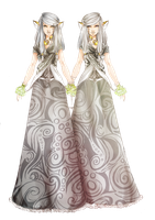 OCs [REF] : Fanne and Lamme Amer Indis -Figeafee- by Vicky-Pandora