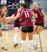 Auggie Volleyball 2007: 7 by calebrw