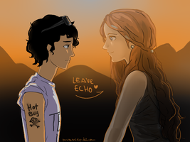 Leo and Echo by MARIAMUMMIER