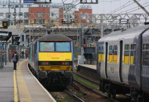 Greater Anglia at Stratford by ZCochrane