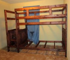 Bunk Bed with Stairs by Lupas-Deva