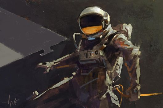 Astronaut by crazypalette