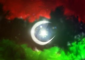Libya Flag by Farisalftasy