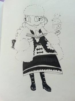 Winter Witch by chubbynugget