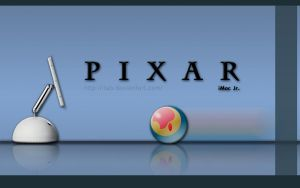 iMac Jr. - Pixar - Wallpaper by iFab